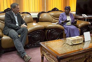 Ann Itto Leonardo Minister of Agriculture of South Sudan