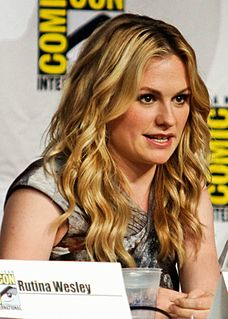 Anna Paquin Canadian-born New Zealand actress