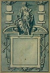 Design for a gravestone