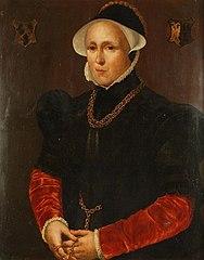 Portret van Elisabeth Jansdr. Van Zijl
