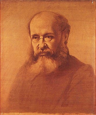 Anthony Trollope - Portrait of Anthony Trollope by Samuel Laurence, circa 1864