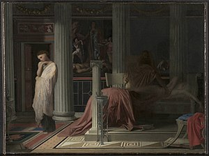 The Illness of Antiochus - Image: Antiochus & Stratonice Ingres Cleveland Museum of Art