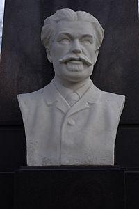 Antoni Kazimierz Blikle (popiersie-grób) 1.JPG