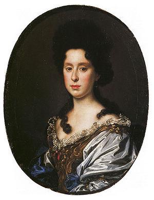 Antonio Franchi - Antonio Franchi, Anna Maria Luisa de' Medici, 1690