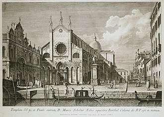 Antonio Visentini - Image: Antonio Visentini Piazza Santi Giovanni e Paolo WGA25131