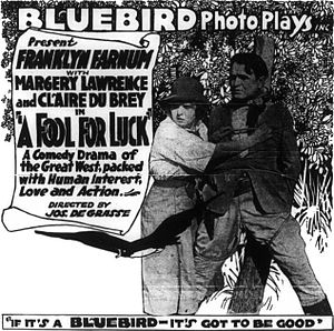 Anything Once - Advertisement under the film's original title
