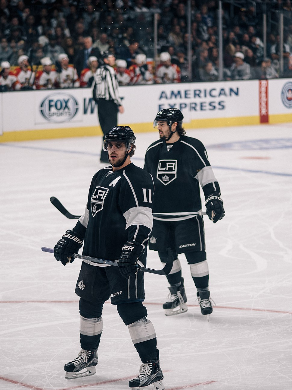 Anze Kopitar and Drew Doughty (22959833135)
