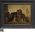 Apen en honden, circa 1829 - circa 1875, Groeningemuseum, 0040358000.jpg