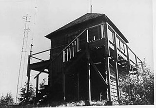 Apgar Fire Lookout historic fire lookout in glacier National Park, USA