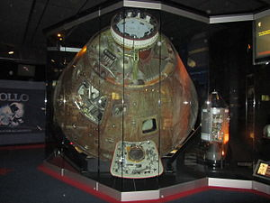 Cosmosphere - Apollo 13 command module on display (2010)