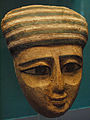 April 26, 2012 - San Diego Museum of Man - Mummy Mask with Green and White Headress.jpg