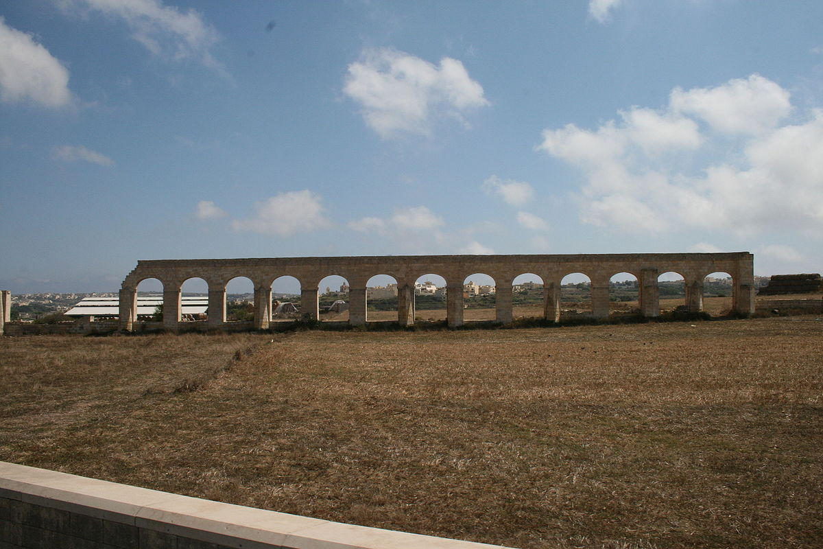 Gozo Aqueduct Wikipedia