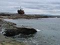 Aran Islands - Inisheer - Schiffswrack - panoramio (3).jpg