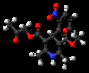 Aranidipine - Image: Aranidipine 3D balls