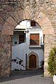 Arc del castell d'Almedíxer.JPG