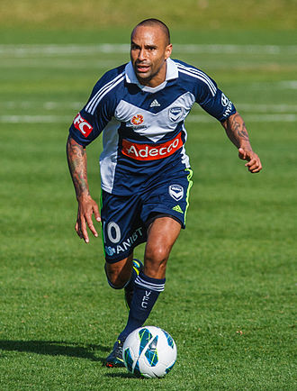Archie Thompson - Thompson playing for Melbourne Victory FC in 2012.