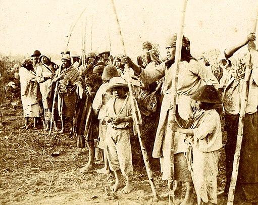 Archivo General de la Nación Argentina 1890 aprox población de wichis