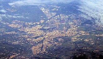 Arezzo - Aerial view