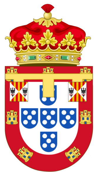 Duke of Beja - The Coat of Arms of the Dukes of Beja.
