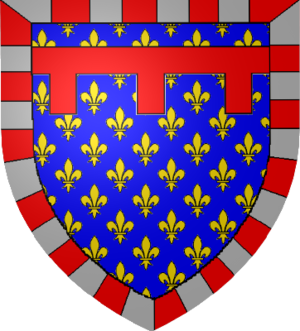 Louis, Count of Gravina - Coat of arms of Louis of Durazzo.