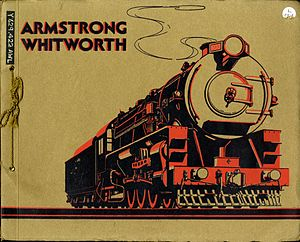 Armstrong Whitworth - Many of the locomotives are shown in this catalogue in the collection of the North of England Institute of Mining and Mechanical Engineers