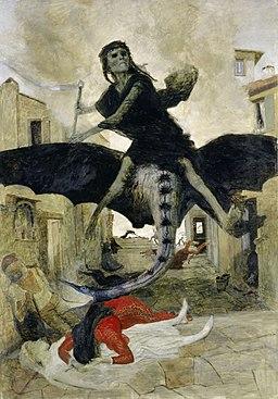 Arnold Böcklin - Dżuma