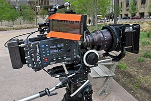 Cinematography - Arri Alexa, a digital movie camera.