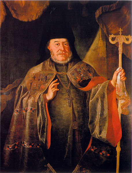 Serbian Patriarch Arsenije IV, leader of the Great Serbian Migration of 1737