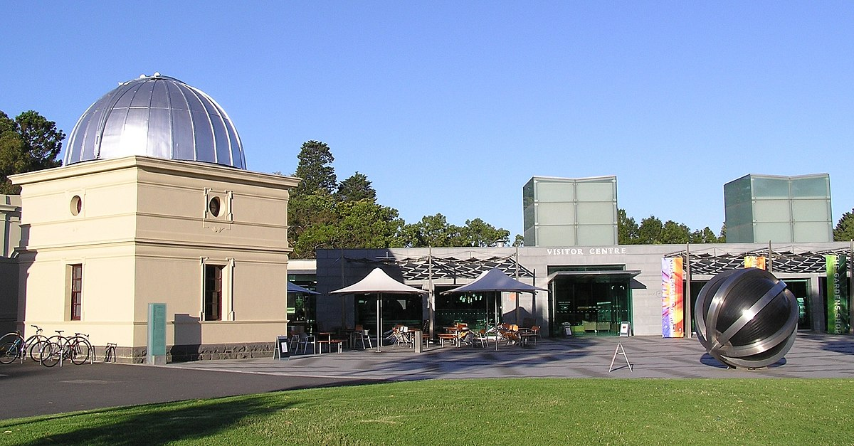Melbourne observatory wikipedia - What time does victoria gardens close ...