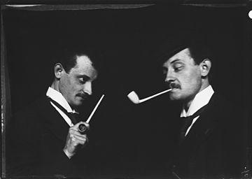 Arthur van Schendel, dubbelportret
