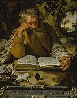 Andrew the Apostle - Saint Andrew the Apostle by Artus Wolffort