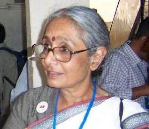 Aruna Roy - Roy at the RTI Activist's National Convention in May of 2007