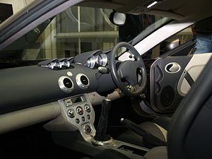 Ascari KZ1 - Interior of the KZ1.