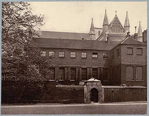 Ashburnham House - View of Ashburnham House, 1880