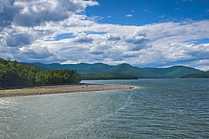 Ashokan Reservoir - Ashokan Reservoir in July 2016