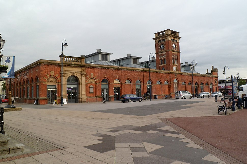 Ashton market hall in October 2011