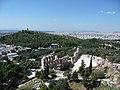Athen – Philopapposdenkmal und Odeon Herodes Atticus - panoramio.jpg