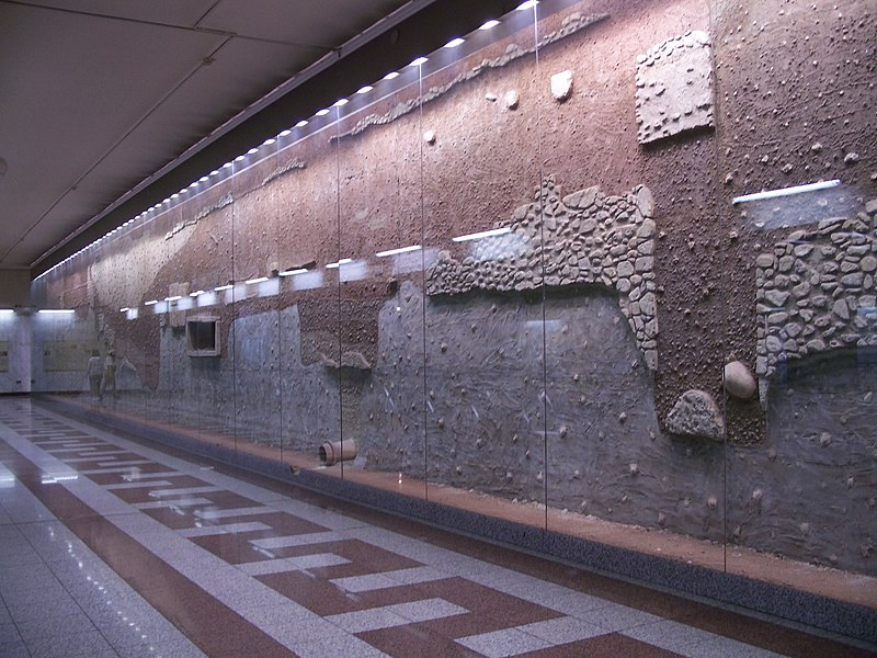 File:Athens Metro Syntagma antiquities.jpg