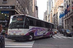 Atlantic Express (bus company) - Image: Atlantic Express MCI 312