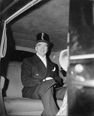 Frank Murphy - Frank Murphy, then U.S. attorney general, is pictured leaving his Washington, D.C. hotel for a Judiciary reception at the White House, January 4, 1940. He had been nominated as a justice of the U.S. Supreme Court that day.