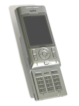 Code-division multiple access - A CDMA2000 mobile phone