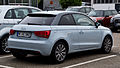 Audi A1 1.2 TFSI Attraction – Heckansicht, 23. September 2012, Ratingen.jpg