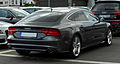Audi A7 Sportback 3.0 TDI quattro S-line – Heckansicht, 15. Mai 2011, Wuppertal.jpg