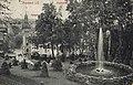 Auerbach (Vgtl.), Sachsen - Postamt; Stadtpark (Zeno Ansichtskarten).jpg