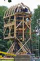 Aufbau der restaurierten Alten Mühle im Hermann-Löns-Park (Hannover) IMG 9295.jpg
