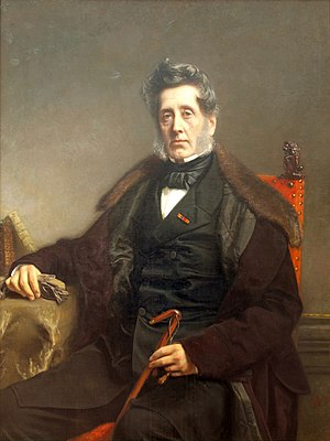 August Allebé - Portrait by Allebé of Johannes Luden, 1868, collection Teylers Museum