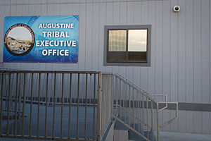 Augustine Band of Cahuilla Indians - Image: Augustine Tribal Executive Office