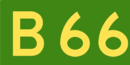 Australian Alphanumeric State Route B66.png