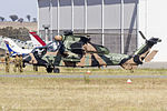 Australian Army (A38-018) Eurocopter EC-655 Tiger ARH at Wagga Wagga Airport.jpg