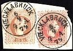 Austria fragment with 1874 5 and 15kr VOECKLABRUCK.jpg